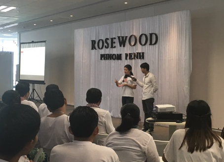 Conference on Rosewood Hotel Phnom Penh