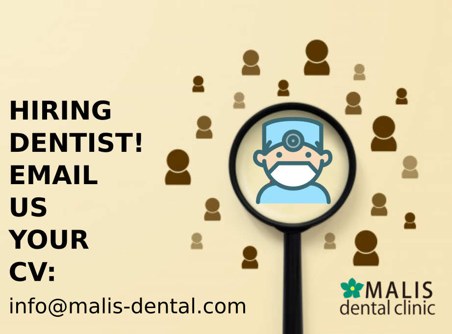 Hiring for dentist!