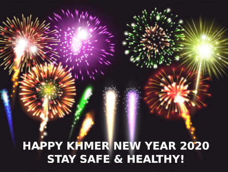 We are open during Khmer New Year